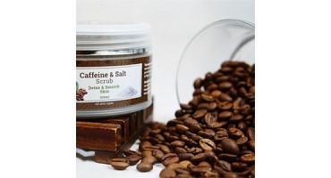 Απολέπιση σώματος με καφέ & αλάτι